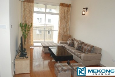 2 bedroom apartment for rent in high-rise apartment building at 713 Lac Long Quan, Tay Ho