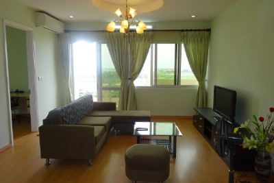 4 bedroom apartent on high floor with nice view for rent in E5 tower, Ciputra Hanoi