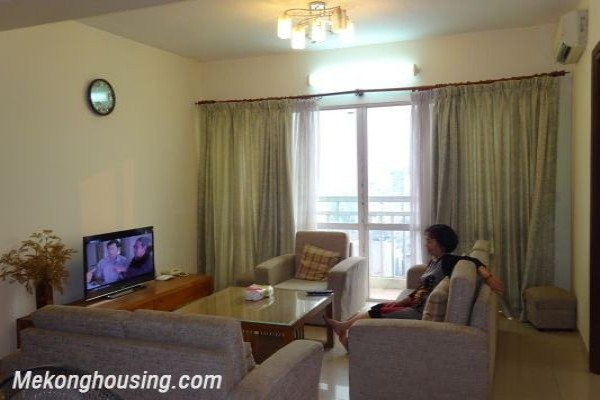 4 bedroom apartment for lease in G2 Ciputra Hanoi, full furmiture 1