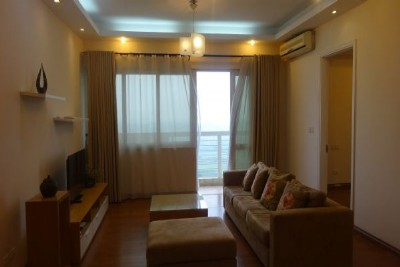 4 bedroom furnished apartment on high floor for rent in E5 Ciputra, Hanoi