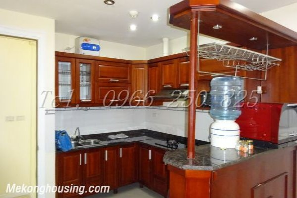 Beautiful apartment with 3 bedrooms at good price for rent in P2 tower, Ciputra Hanoi 1