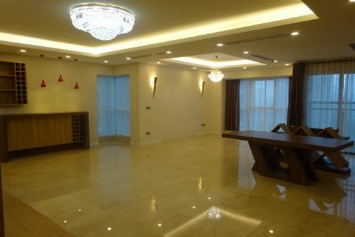 Brand new furnished apartment with 4 bedroom for rent in L2 tower, Ciputra Hanoi