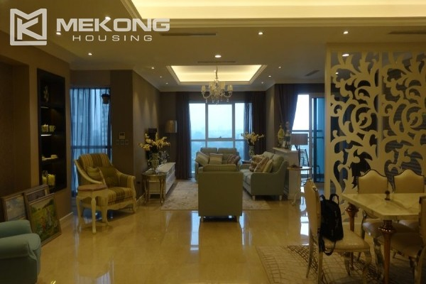 Charming apartment with 4 bedrooms and nice view in L tower, Ciputra Hanoi 1