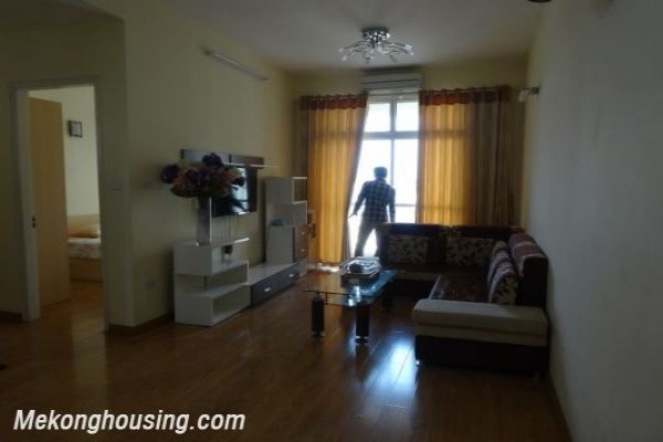 And Nice Apartment With 2 Bedroom For In Building 713 Lac Long Quan