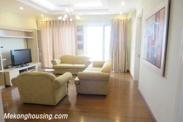 Ciputra apartment with 4 bedroom for rent on high floor in E5 building, well furnished 1