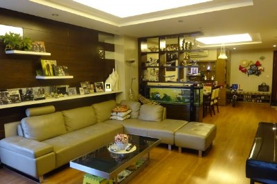 Ciputra furnished apartment with 3 bedrooms for rent in E5 tower