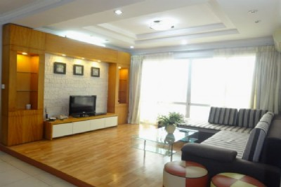 Ciputra Hanoi 4 bedroom apartment for rent in G2 building, full furniture, lake view