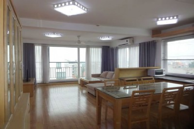 Full natural light apartment with 2 bedrooms for rent in To Ngoc Van street, Tay Ho, Hanoi