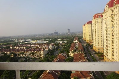 Fullly furnished apartment in G2 Ciputra Hanoi, 3 bedrooms, outdoor balcony
