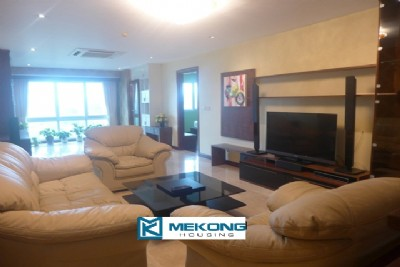 Fullly furnished apartment with 3 bedrooms for rent in P tower, Ciputra Hanoi