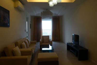 Fullly furnished apartment with 3 bedrooms for rent in P2 building, Ciputra Hanoi