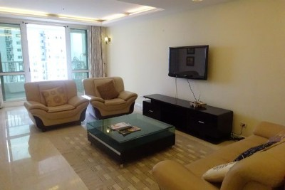 Fullly furnished apartment with 3 bedrooms for rent in P2 tower, Ciputra Hanoi