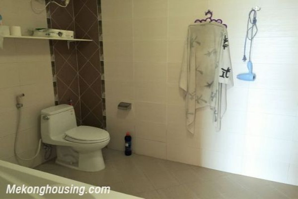 Fullly furnished apartment with 3 bedrooms for rent in Veam building, Lac Long Quan street, Tay Ho 1