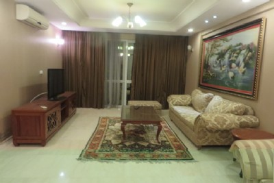 Fullly furnished apartment with 4 bedrooms for rent in P building, Ciputra Hanoi