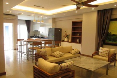 Fully furnished apartment for rent in Peach Garden, Tay Ho district, Hanoi
