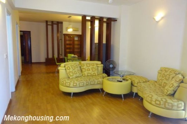 Fully furnished apartment with 3 bedrooms at reasonable price in G2, Ciputra Hanoi 1