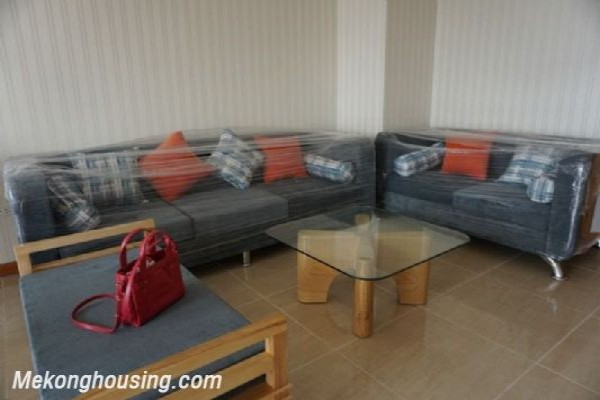 Fully furnished apartment with 3 bedrooms for rent in CT2B Tay Ho Residence, Tay Ho, Hanoi 1