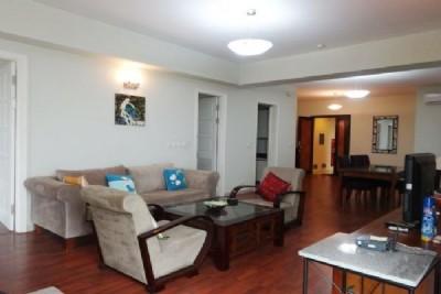 Fully furnished apartment with 3 bedrooms for rent in E1 building, Ciputra, Tay Ho, Hanoi