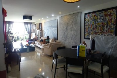 Fully furnished apartment with 3 bedrooms for rent in P1 building, Ciputra Hanoi