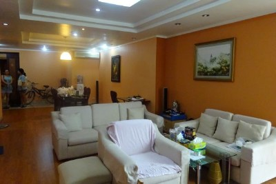 Furnished apartment with 3 bedrooms and Westlake view for rent in G3 Ciputra Hanoi