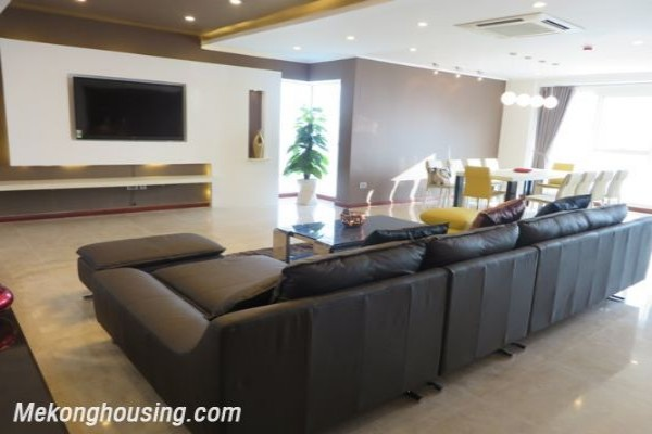 Luxurious apartment with 4 bedrooms for rent in L1 building, Ciputra Hanoi 1