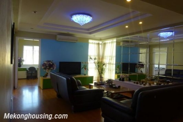 Nicely furnished apartment with 3 bedrooms for rent in G2, Ciputra 1