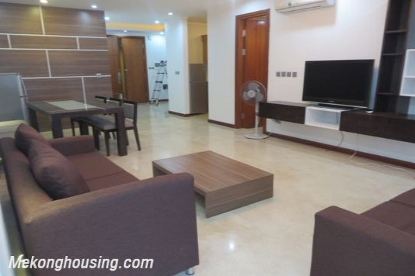 Nicely furnished apartment with 3 bedrooms for rent in L1 building, Ciputra Hanoi 1