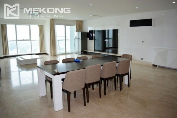 Spacious furnished 4 bedroom apartment in L tower, Ciputra Hanoi 1