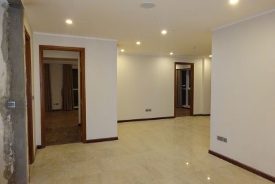 Unfurnished apartment with 3 bedrooms on high floor in L2, Ciputra Hanoi