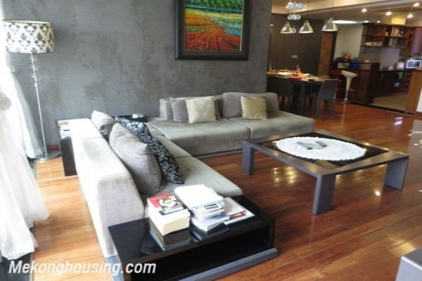 Well decorated apartment with 3 bedrooms on high floor in E5 Ciputra Hanoi 1
