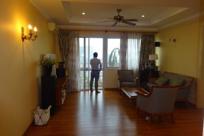 Well furnished apartment with 4 bedrooms for rent in E5, Ciputra Hanoi